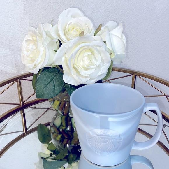 Starbucks GRANDE Matte Gray Ceramic Mug